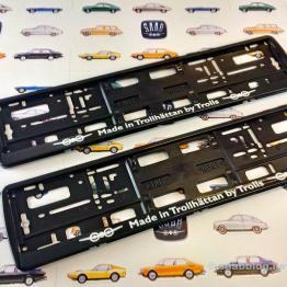 Titular de la placa Saab