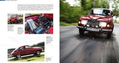 Saab Buch aus Schweden
