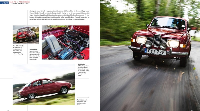 Saab book from Sweden