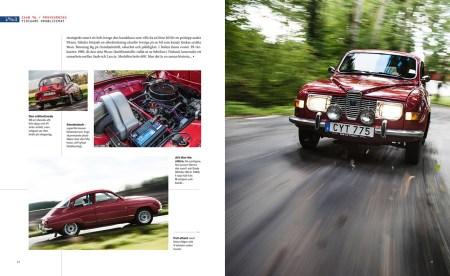 Saab bok från Sverige