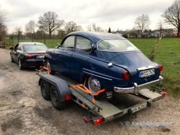 Saab no trailer