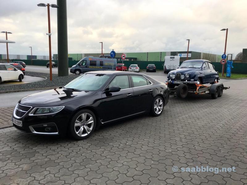 Saab 9 5 NG en Saab 96