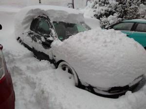 Hittade i snön