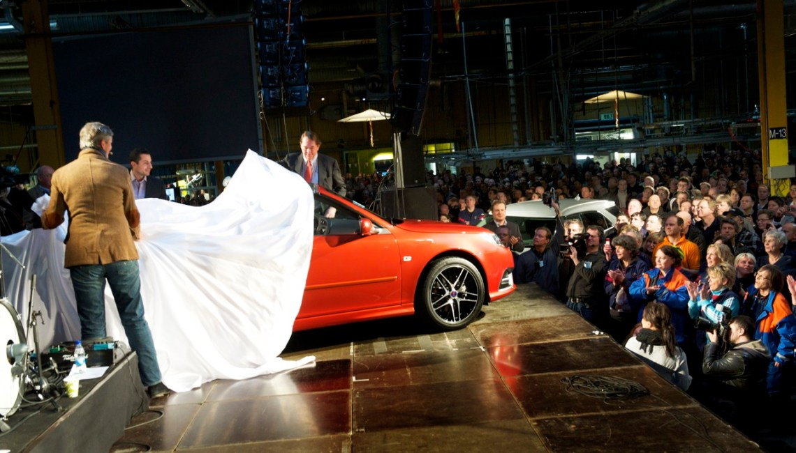 Saab Independence Day 2011. Bild Saab Automobile AB/Archiv Saabblog.net
