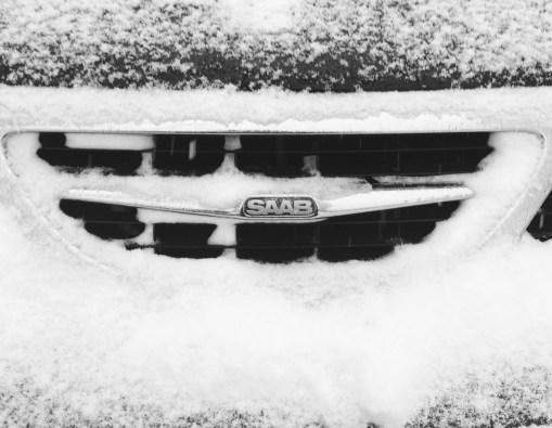 Saab och snö