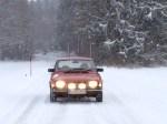 Der Klassiker. Saab 99 von Team Wagenheimer.