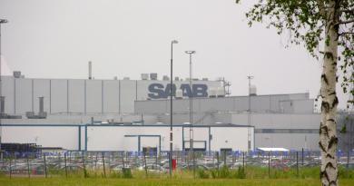 Завод Saab Trollhättan 2010