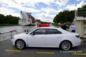 Saab und Nord-Ostsee-Kanal