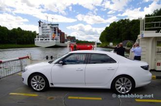 Saab en Kiel Canal