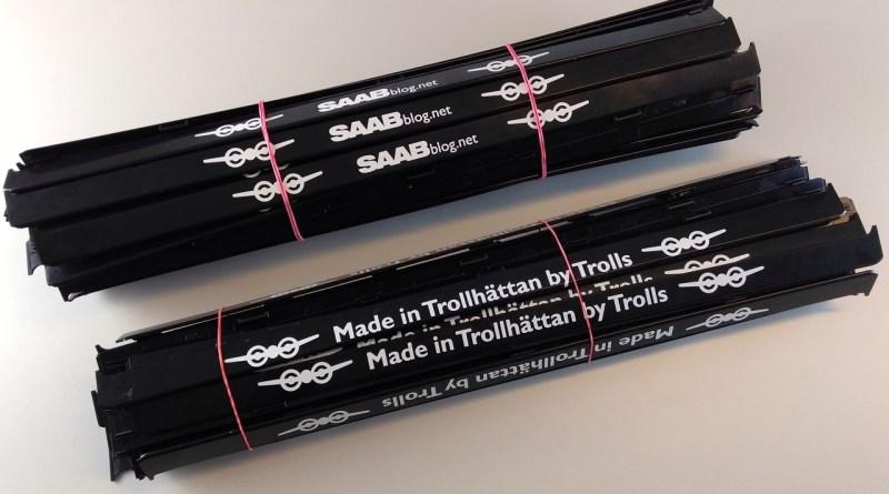 Support de plaque d'immatriculation Saab