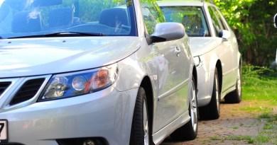 Gedanken beim Blick auf zwei Saabs (eine Saabfamilie und ihre Geschichte)