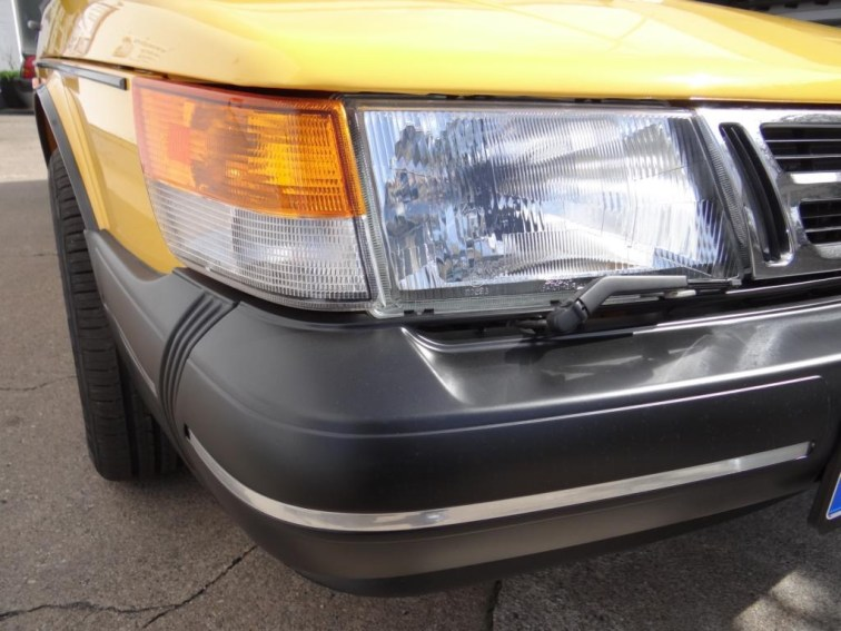 Frisch restauriertes Saab 900 Cabriolet. Bild: Bredlow