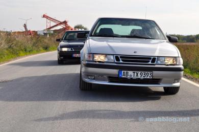 Saab Verwandtschaftsausflug
