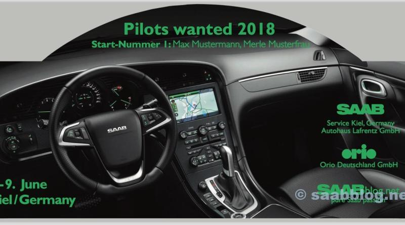 Пилотам нужен 2018, Saab Rallye Plate