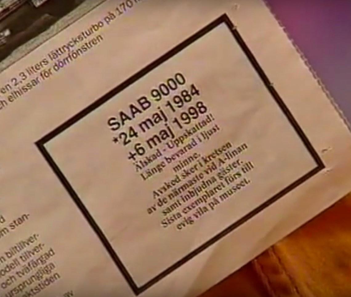 Geliebt, geschätzt. Todesnachricht 6. Mai 1998.