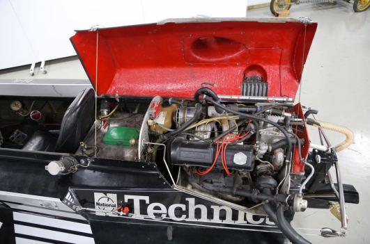Saab Turbo mit Porsche Einspritzung und LLK. Photo: Bilweb