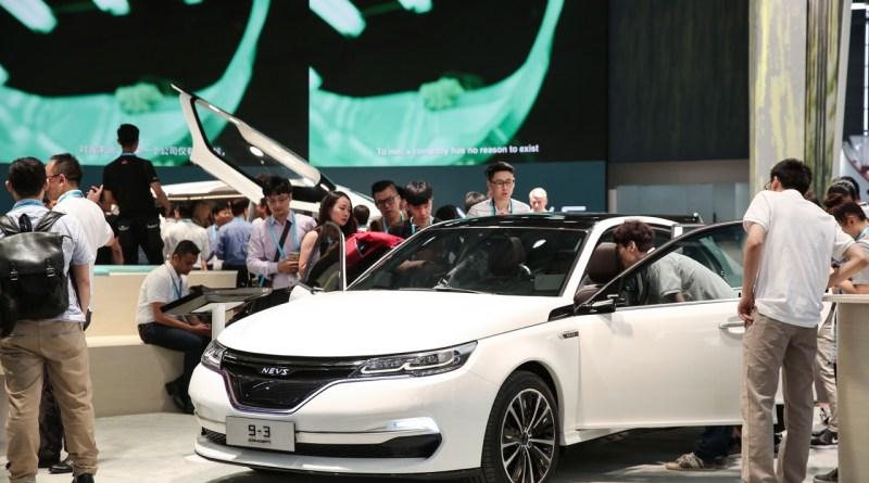 NEVS 9-3 Sedan Conceito CES ASIA 2017