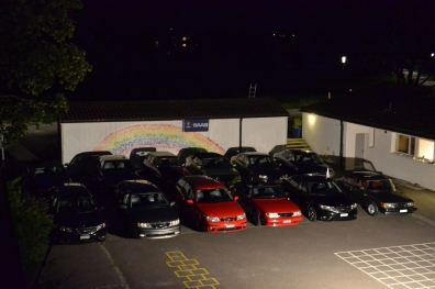 Saab Drive-in-biografen är endast tillgänglig i Tössdalen