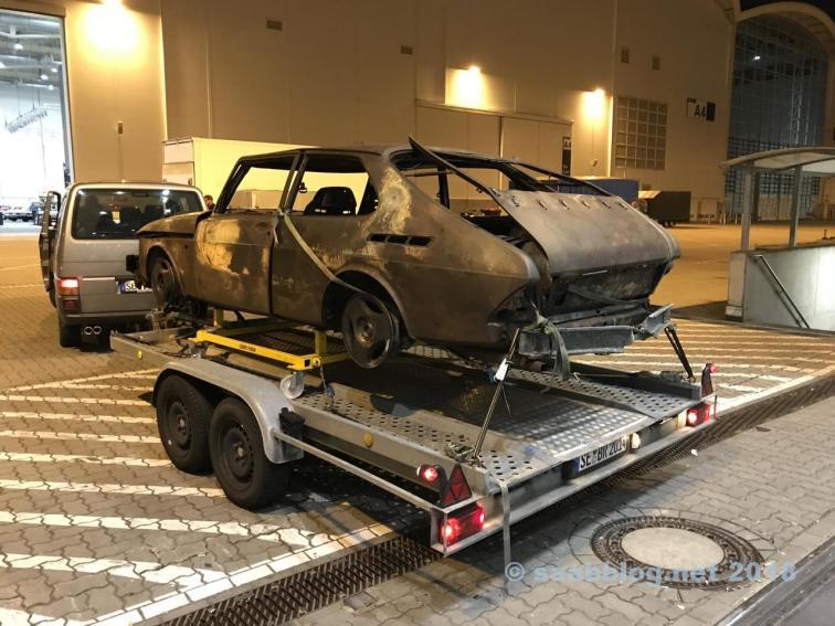G20 Saab no trailer
