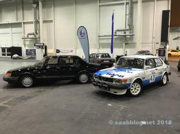 900 Turbo und 99 im Rallye Trim rollen in die Hallen
