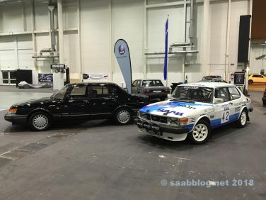 900 Turbo en 99 in de rallyafwerking rollen de gangen in