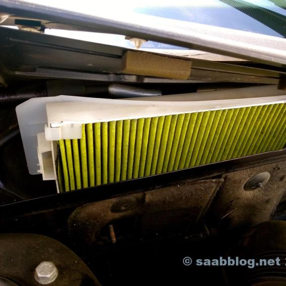 Interior air filter. Change all 15.000 kilometers or 12 months
