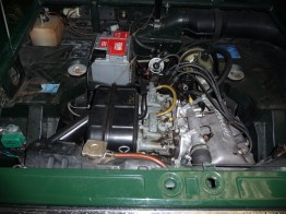 Lancia Fulvia engine 1