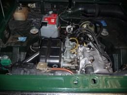 Lancia Fulvia-motor 1