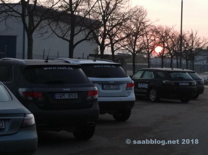 Usine de Saab en octobre 2011