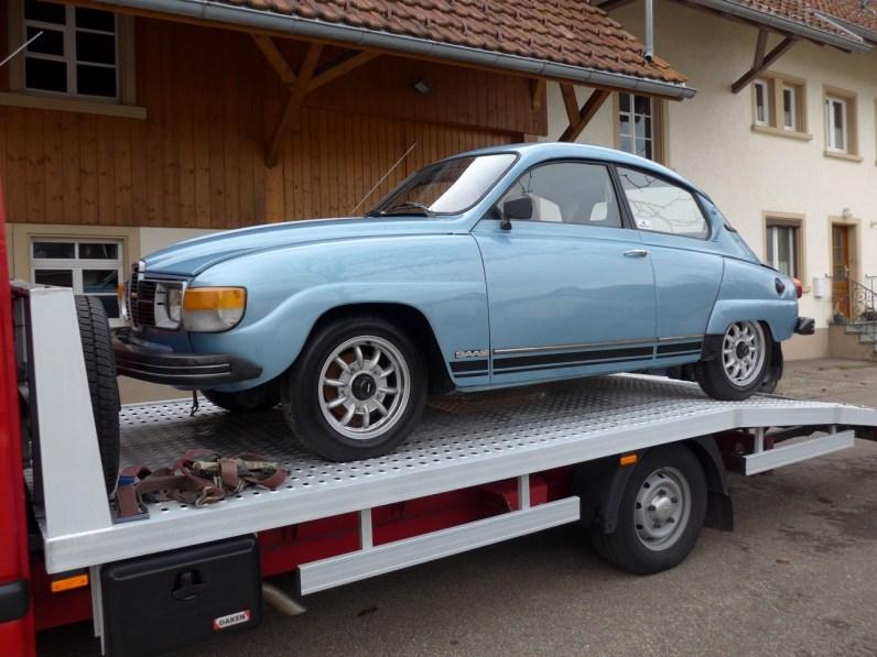Jubileu Saab 96