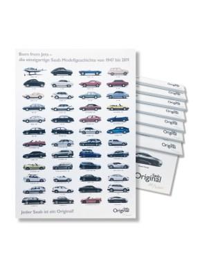 Эксклюзивный товар Saab. История Saab как картина холста. Картина: Орио