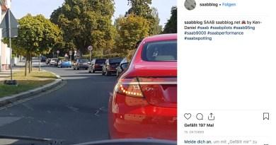 Saab Instagram Foto do mês de outubro