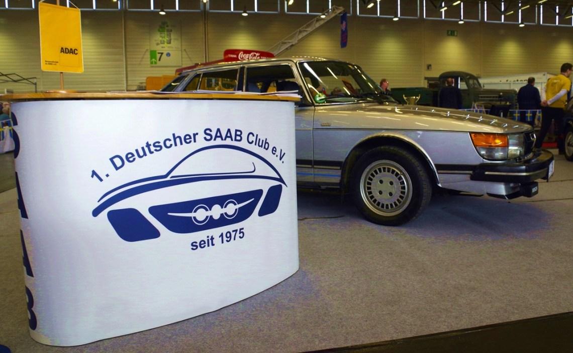 Saab bij de Retro Classics Keulen