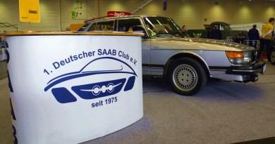 Saab в ретро-классике Кельн