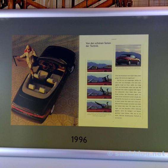 Saab 900 II Bild aus der Werksniederlassung in Frankfurt