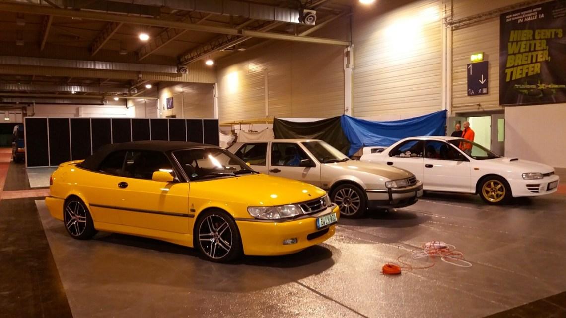 Subaru WRX STI, Saab 9000 CSE und Saab 9-3 Aero Cabriolet