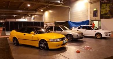 Saab y Subaru en el Motor Show de Essen