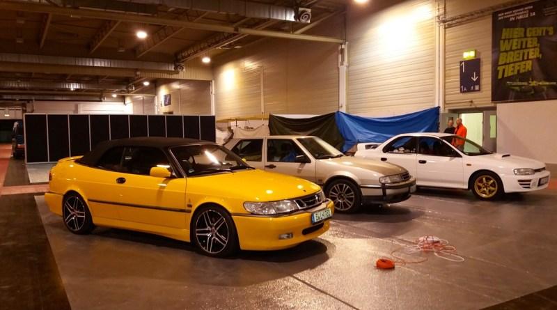 Subaru WRX STI, Saab 9000 CSE och Saab 9-3 Aero Cabriolet