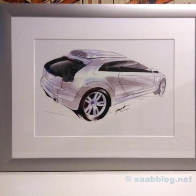 Conceito Saab 9-3x por Michael Maurer