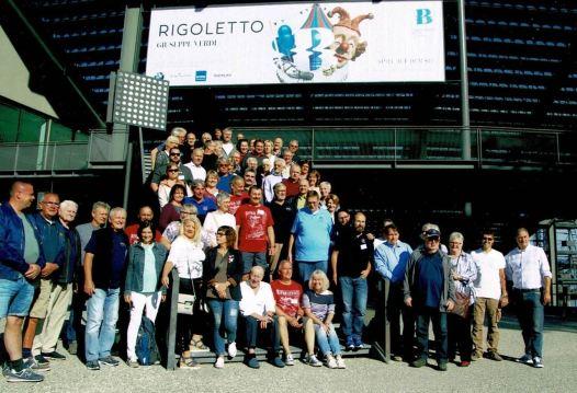 Gruppenfoto in Bregenz