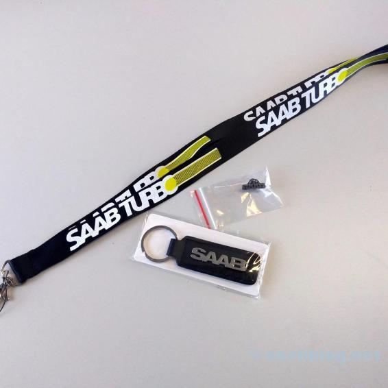 Saab Snodd, Pin och Nyckelring