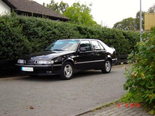 Saab 9000 = company car