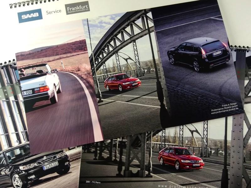 Calendario Saab 2019