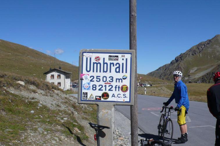 في Umbrailpass