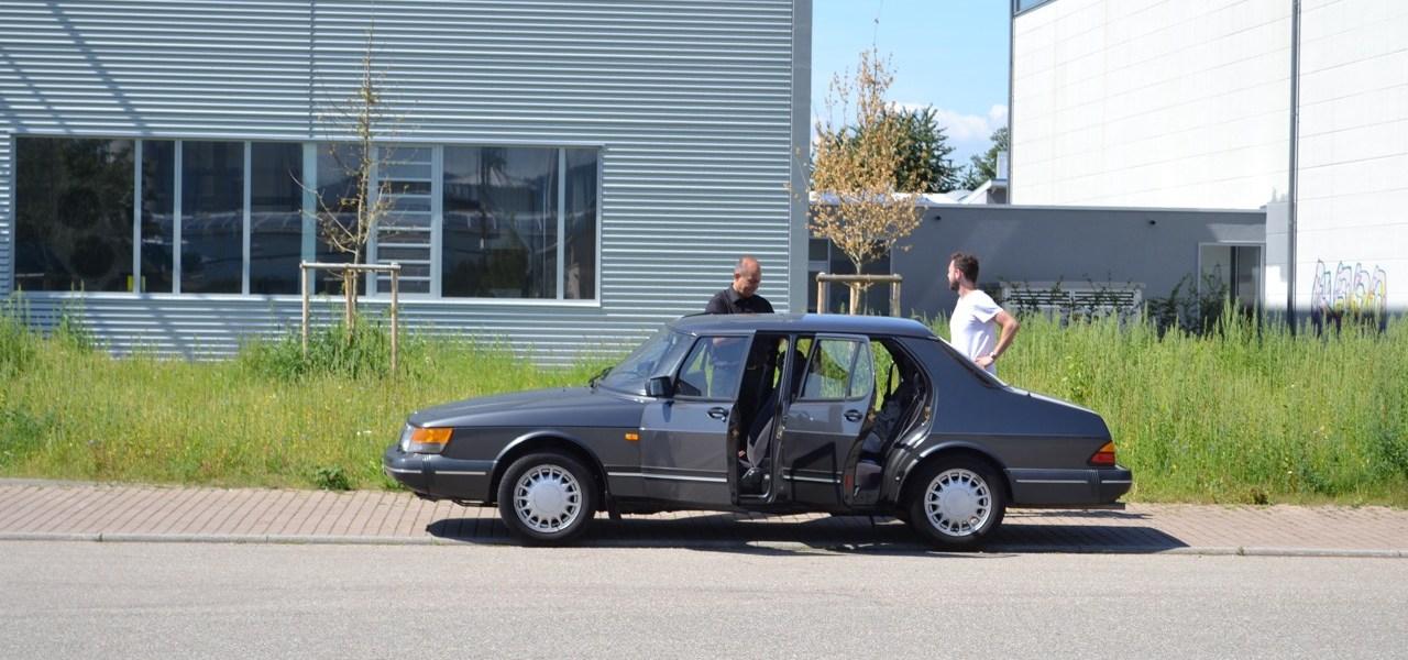 30 years and 500.000 km one and the same Saab 900 turbo
