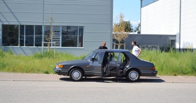 30 years and 500.000 km one and the same Saab 900 turbo