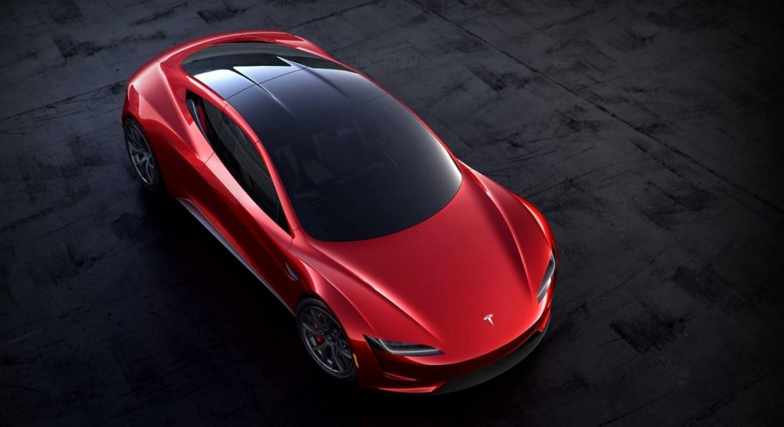 Tesla Roadster 2020. Imagem: Tesla