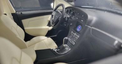 Das Saab Traumauto als Miniatur