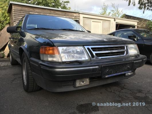Saab 9000 CD, наименее популярная версия великой Швеции