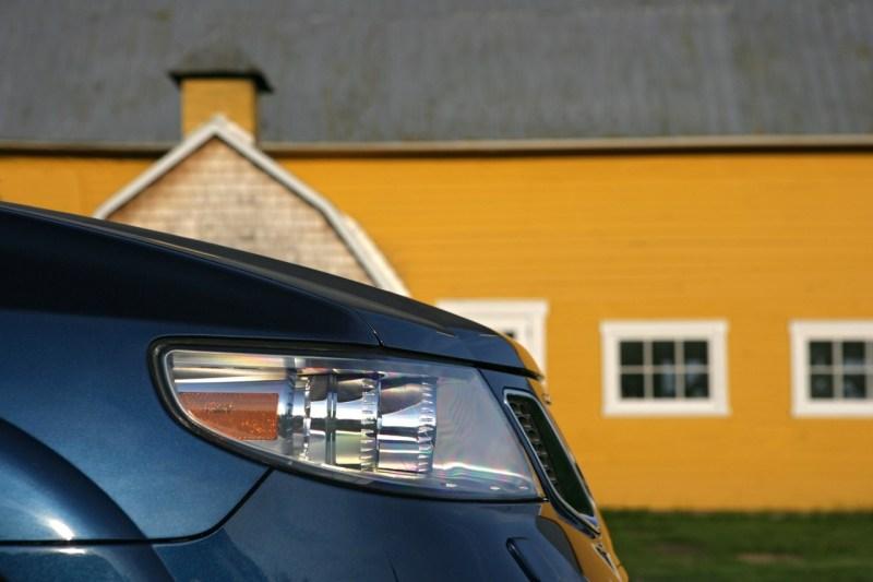 Saab Termine September 2019. Unser Motiv ist ein 2006er Saab 9-7X